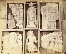 Buddhist sculpture pieces from Jamal-Garhi. 1003993